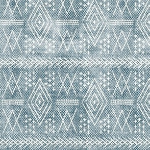(small scale) vintage moroccan - dusty blue