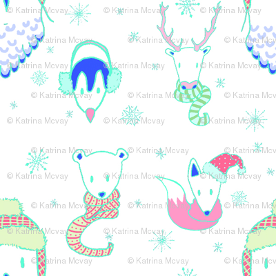 Warm Arctic Animals