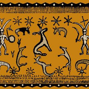 Pagan Ritual Shaman Dance