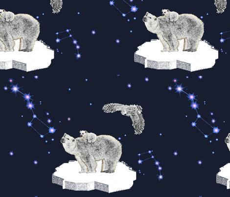Polar fabric by belana on Spoonflower - custom fabric