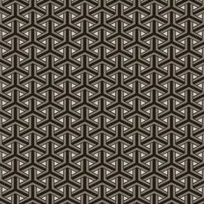 Bamboo Weave Small - Grey