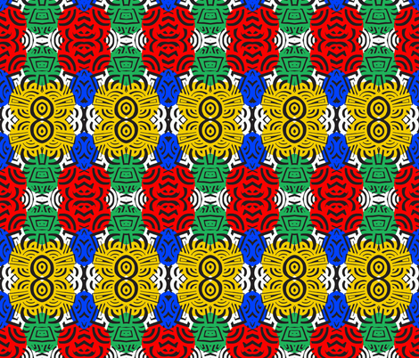 African Maze fabric by garren on Spoonflower - custom fabric