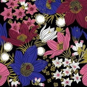 Arctic Flowers (black)