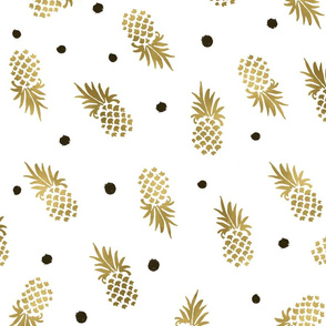 Gold_Pineapples_Dots_large
