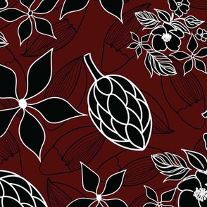 Black-and-Red-Fantasy-Flowers