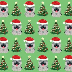 Christmas Elkhound