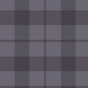 purple-grey plaid-textured