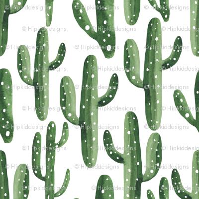 Southwest Cactus Watercolor