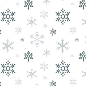 snow flakes-large