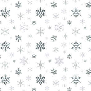 snow flakes- small