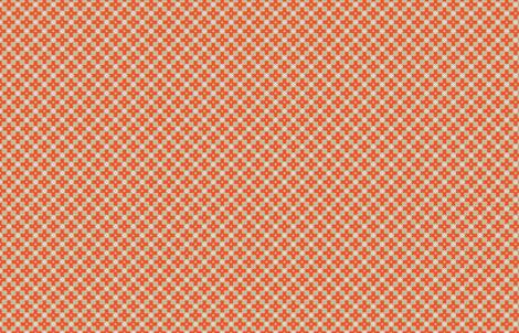 Danish Garden M+M Latte by Friztin fabric by friztin on Spoonflower - custom fabric