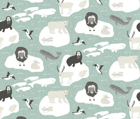 ArticAnimals-2-01 fabric by studio_esperluette on Spoonflower - custom fabric