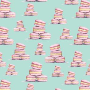 Pink Lemonade Minty Macaroons