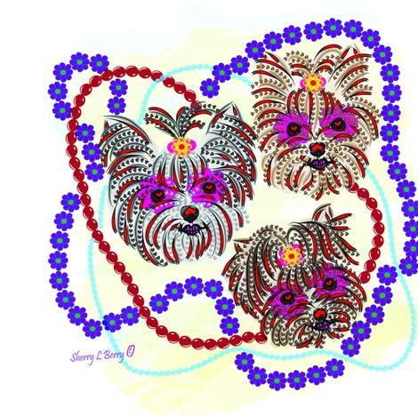 SugarTatooJJ fabric by sherry-savannah on Spoonflower - custom fabric
