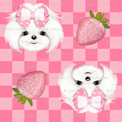 Maltese pink strawberry S