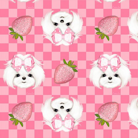 Rmaltese_pink_strawberry_s_shop_preview