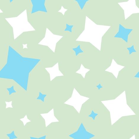 ElephantRaceStarz fabric by happyhappymeowmeow on Spoonflower - custom fabric