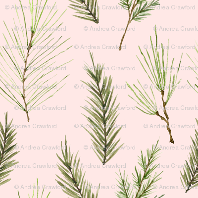 Holiday Pines Pink