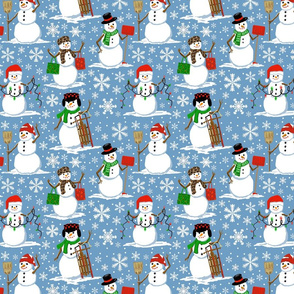 snow folk light 8x8