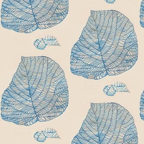 Antique Blue Hobblebush Leaf