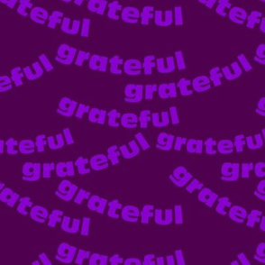 grateful purple grape waves