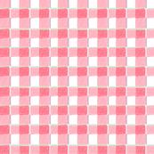 Macaron Sweet Cherry Plaid