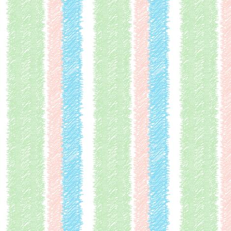 Macaron Stripe fabric by happyhappymeowmeow on Spoonflower - custom fabric