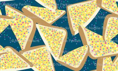 Fairy Bread on Teal