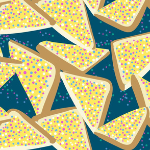 Fairy Bread on Teal
