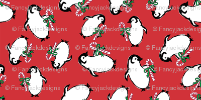 Candy Cane Penguins