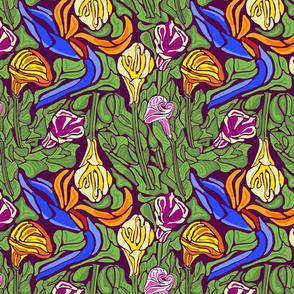 Nouveau Flowers