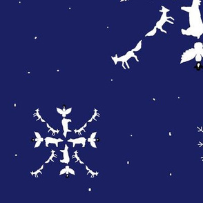 ARTIC ANIMAL SNOWFLAKE