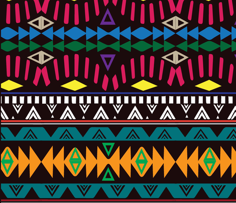 african print competition design 3 fabric by afrodutchkins on Spoonflower - custom fabric