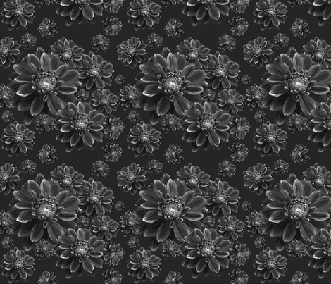 blackdahlia fabric by four_eyes_design on Spoonflower - custom fabric