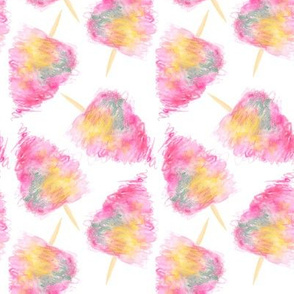 Fairy Floss | Watercolour Cotton Candy Squiggle