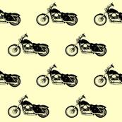 Harleys on Yellow
