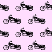 Harleys on Pink