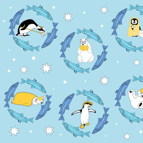 Penguins and Fishes and Bears _ oh my