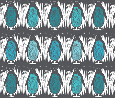 Penguins fabric by ruth_robson on Spoonflower - custom fabric