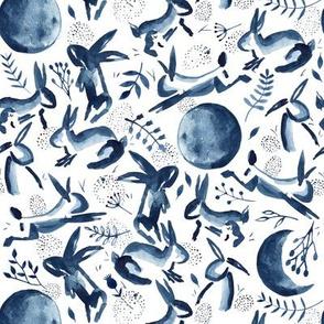 Delivery by Moonlight | Indigo Bunnies