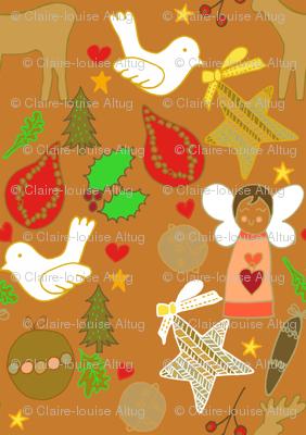 christmas colourful cheer