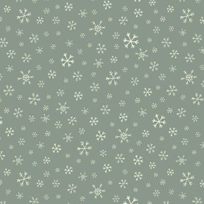 Snowflake scatter on Sage