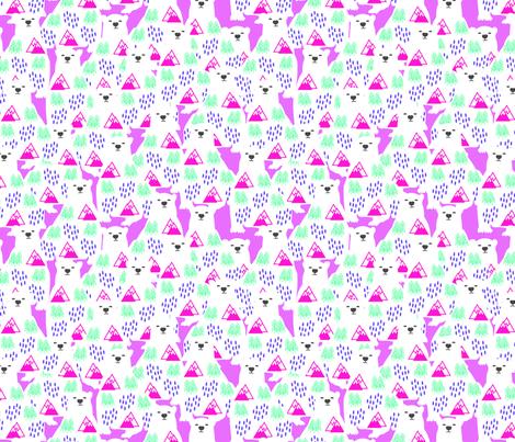PolarTundra fabric by mudzart on Spoonflower - custom fabric