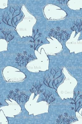 Arctic Hare {Blue}