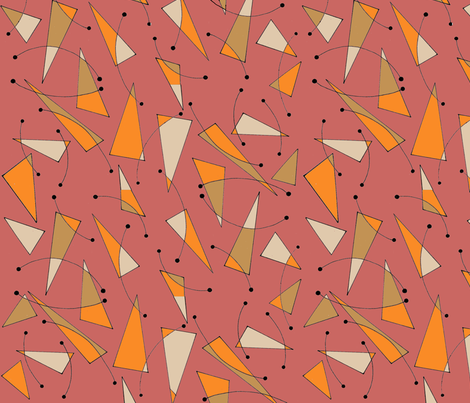 Popsicles in Pink  fabric by blink_on_my_nose_ on Spoonflower - custom fabric