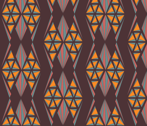Kilim Eyes  fabric by blink_on_my_nose_ on Spoonflower - custom fabric