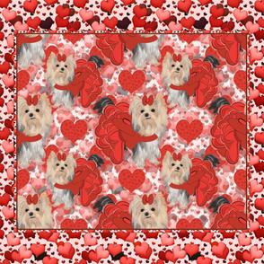 Valentine Brandy Quilt Full Size 42x36