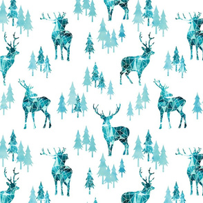 Ice Forest Deer