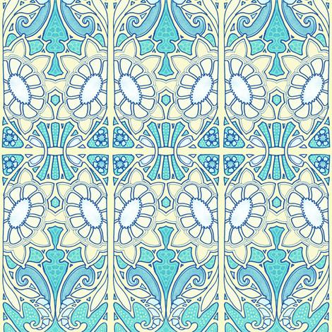 Happy Go Garden  fabric by edsel2084 on Spoonflower - custom fabric