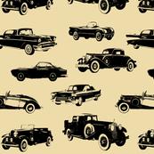 Vintage Cars // Tan